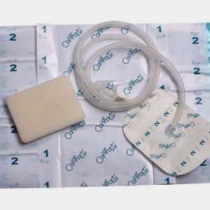 Вакуумные наборы для закрытия ран с белой губкой