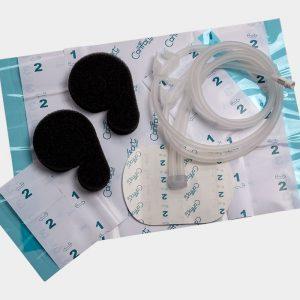 Вакуумные наборы для закрытия ран инстилляционного лечения