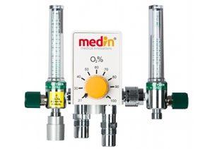 Смеситель газа для сжатого воздуха и O2 medinBlender 1090
